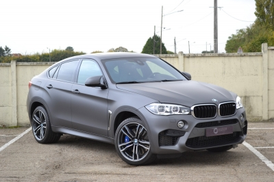 Covering BMW X6 M gris mat