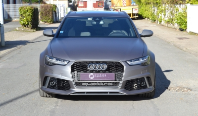 Audi RS6 Performance covering gris mat métallisé